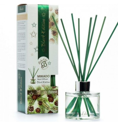 Mikado Black Edition Reed Diffuser 125 ml Forest